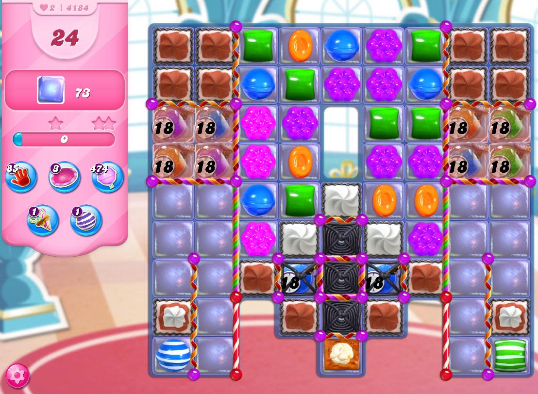 Candy Crush Saga level 4184