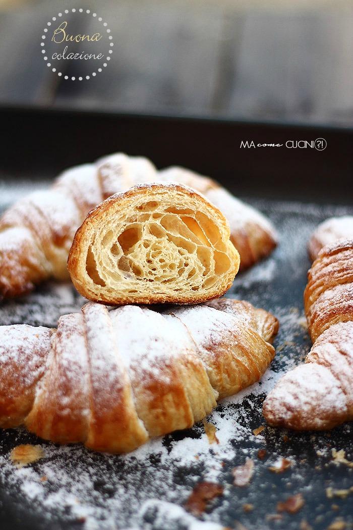 Croissant sfogliati Iginio Massari ricetta con foto passo passo