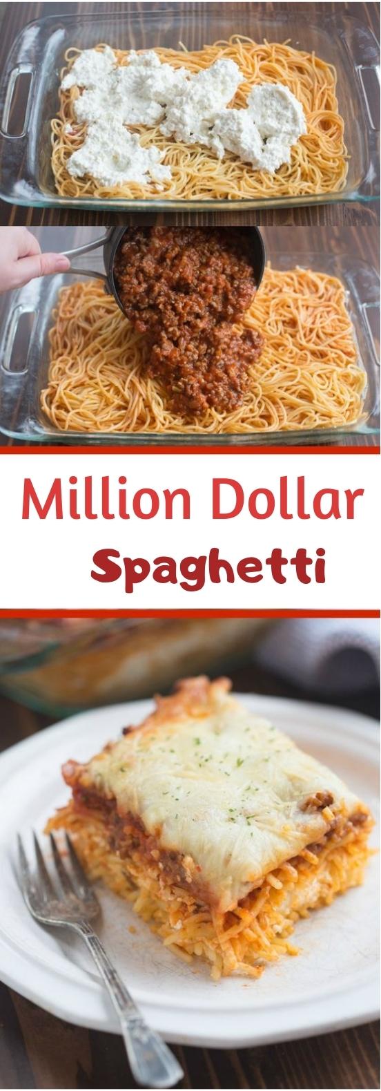 Million Dollar Spaghetti #bestdinner #pasta