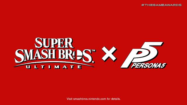 Super Smash Bros. Ultimate X Persona 5 Joker Challenger Pass Ren Amamiya