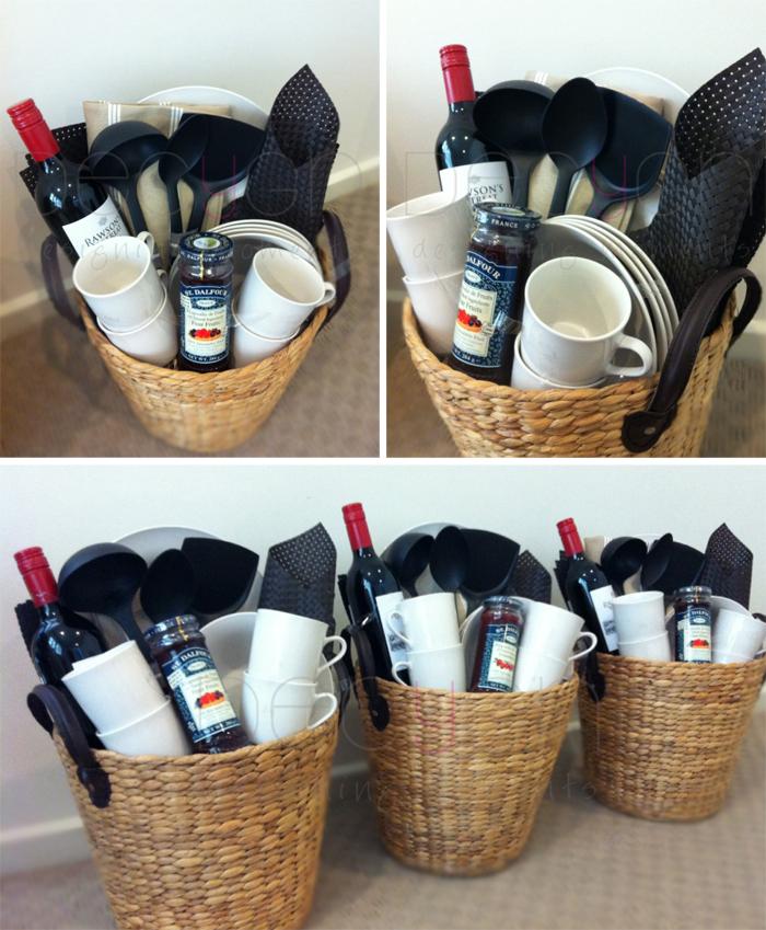New Home Gift Basket Ideas: DECYGN: New Home Gift Hamper