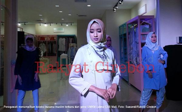 csb mall luncurkan gerai  busana muslim lubna
