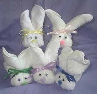Come realizzare un coniglio con asciugamano