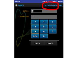 Cara menggunakan stoploss atau cutloss di ipot android