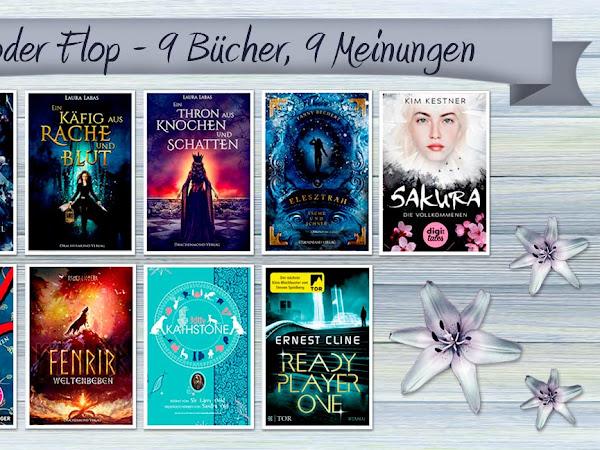 [TOP ODER FLOP] 9 Bücher - 9 Meinungen