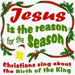 Clip Art - Jesus is the Reason for the Season