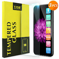 3Pcs Apple iPhone XS Max/XS/XR/ X 8 7 6 6s Plus Tempered Glass Screen Protector