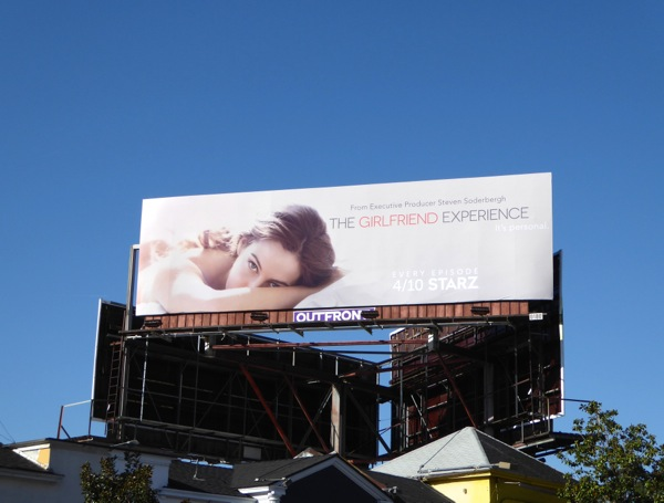 Girlfriend Experience series billboard