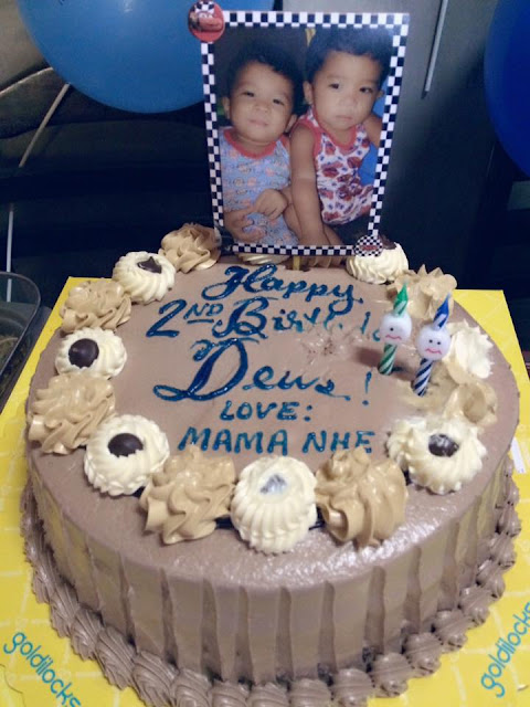My Twins' 2nd Birthday - Goldilocks Cake