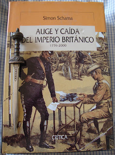Portada del libro Auge y caída del Imperio Británico, de Simon Schama