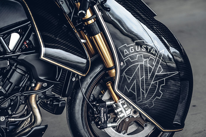 Ohlins suspension - MV Agusta Ballistic Trident