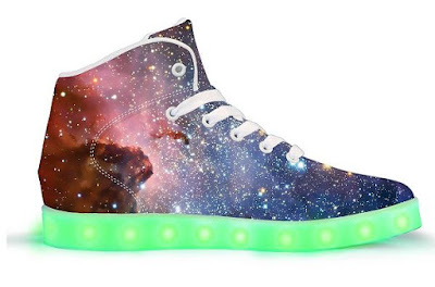 Lightyear App Controlled High Top Light Up Shoes