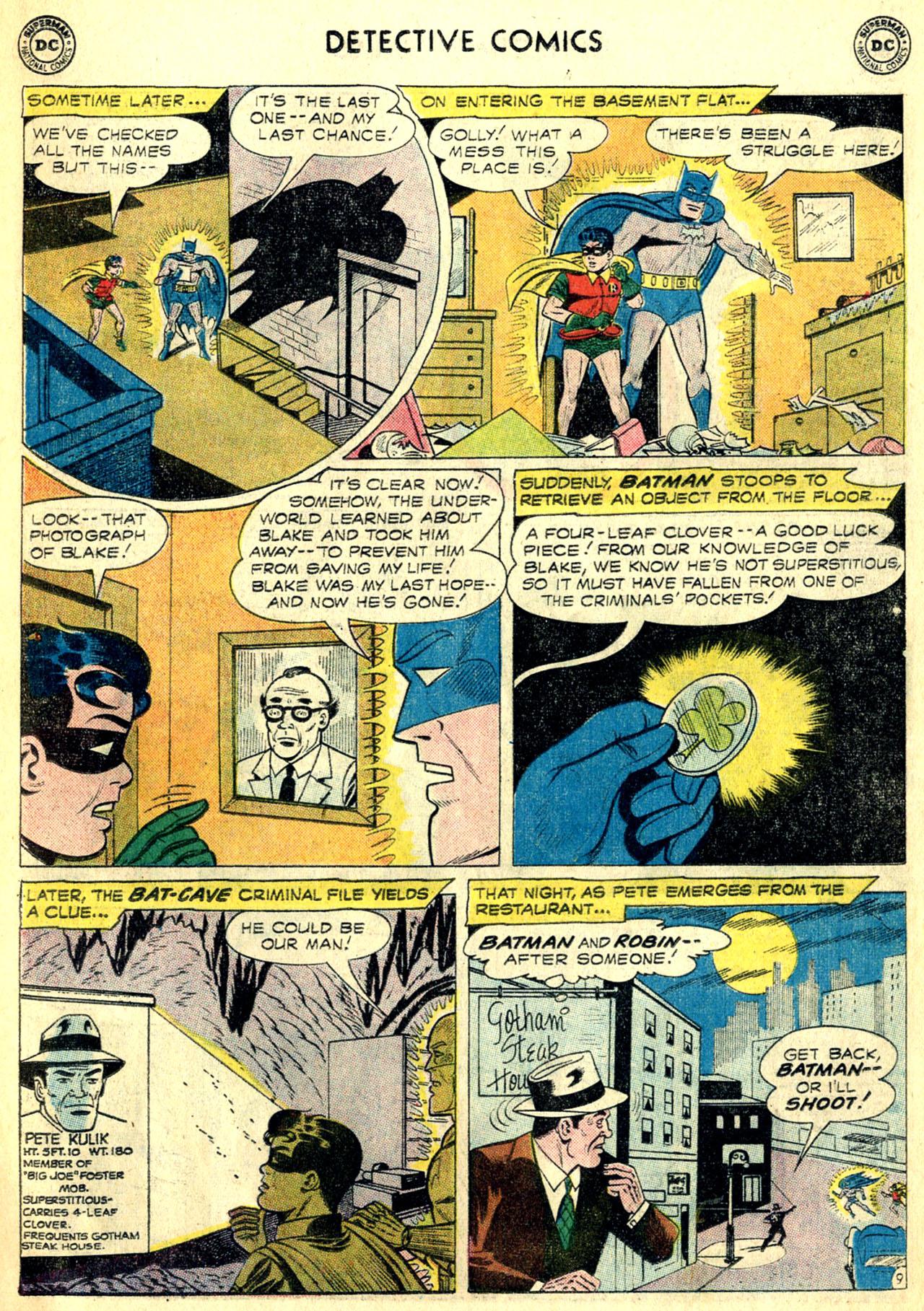 Read online Detective Comics (1937) comic -  Issue #268 - 11