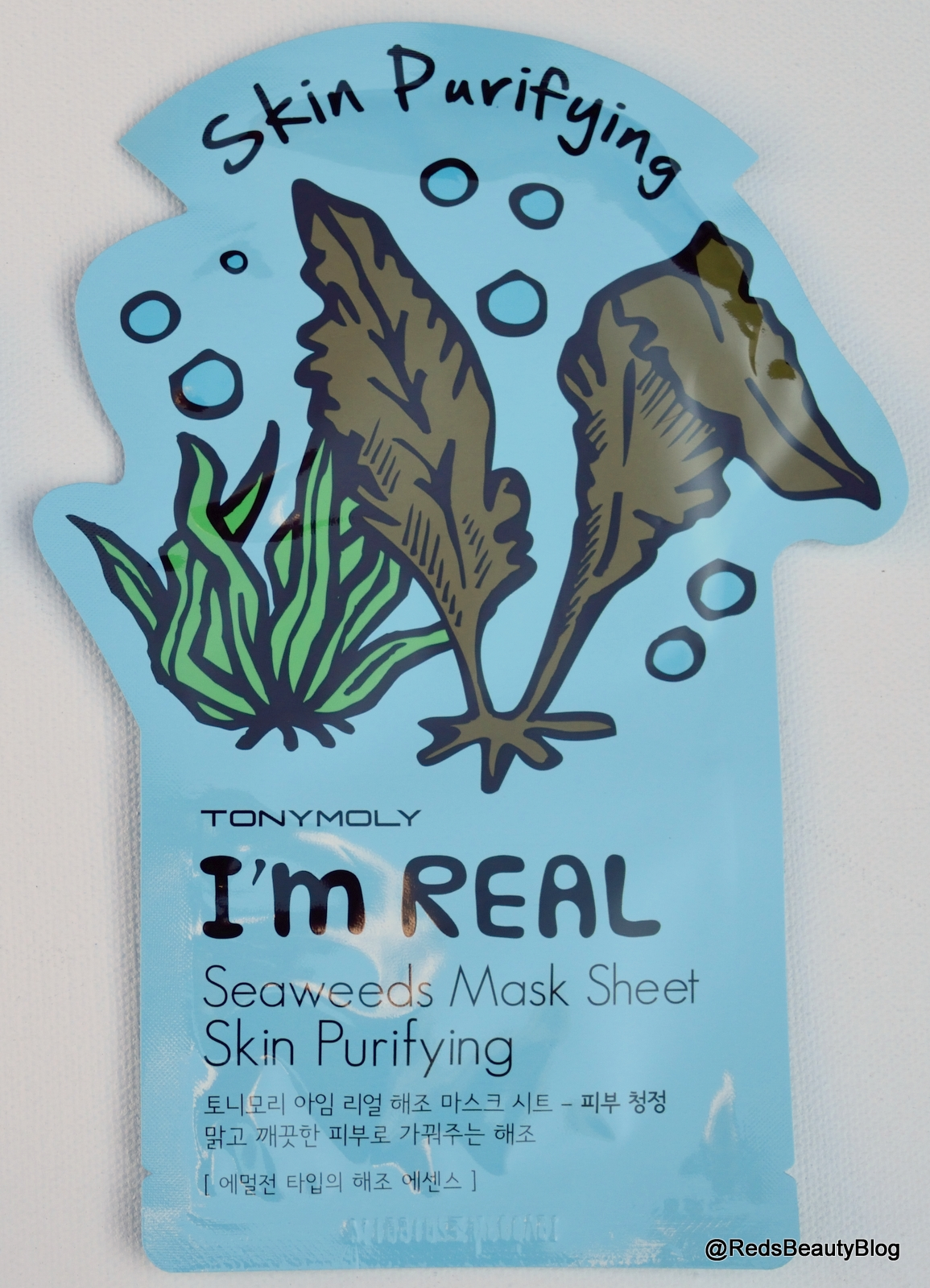 a picture of Tony Moly Im Real Sheet Mask Seaweed