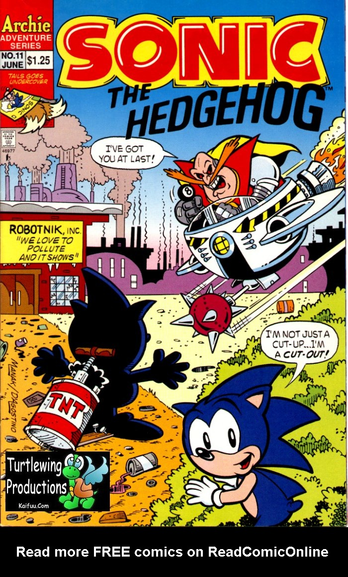 Sonic The Hedgehog (1993) 11 Page 1