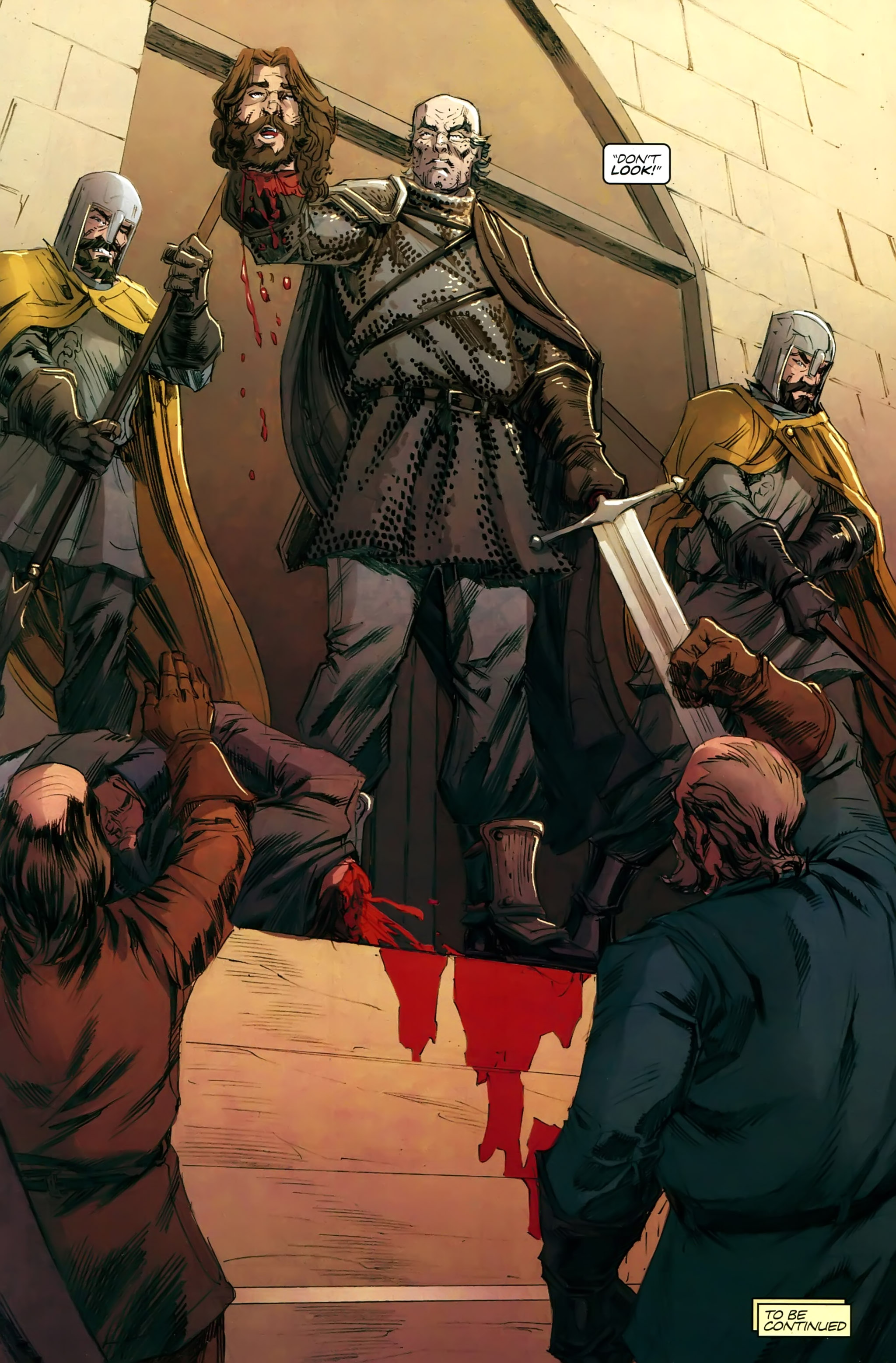 Read online A Game Of Thrones comic -  Issue #21 - 30