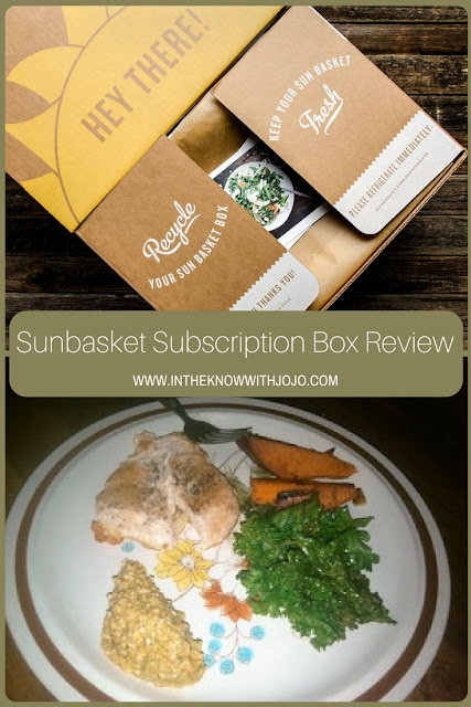 Get you Sun Basket now and get 3 healthy fresh meals that's right for the budget.
