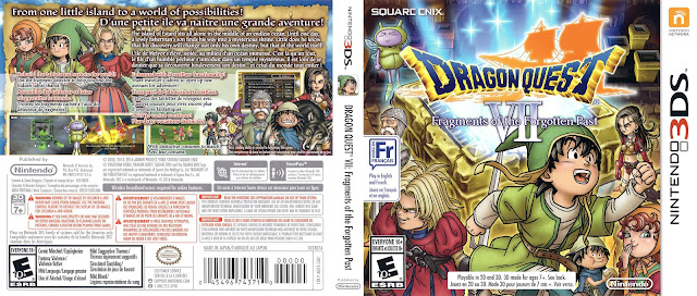 Capa Dragon Quest VII Fragments of the Forgotten Past 3DS