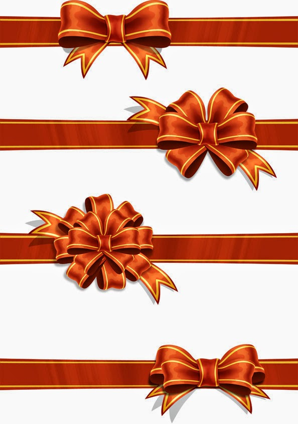 Red PSD Ribbons