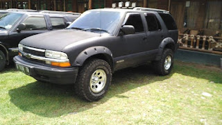 Dijual Blazer DOHC 1997 sudah upgrade modif ke mata sipit keren siap pakai.