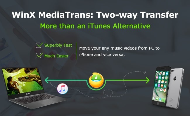 WinXMediaTrans, is a complete solution for iPhone, iPad and the best iTunes alternative for Windows that will make it easier to transfer photos, video, ringtone from iPhone to PC or PC to iPhone
