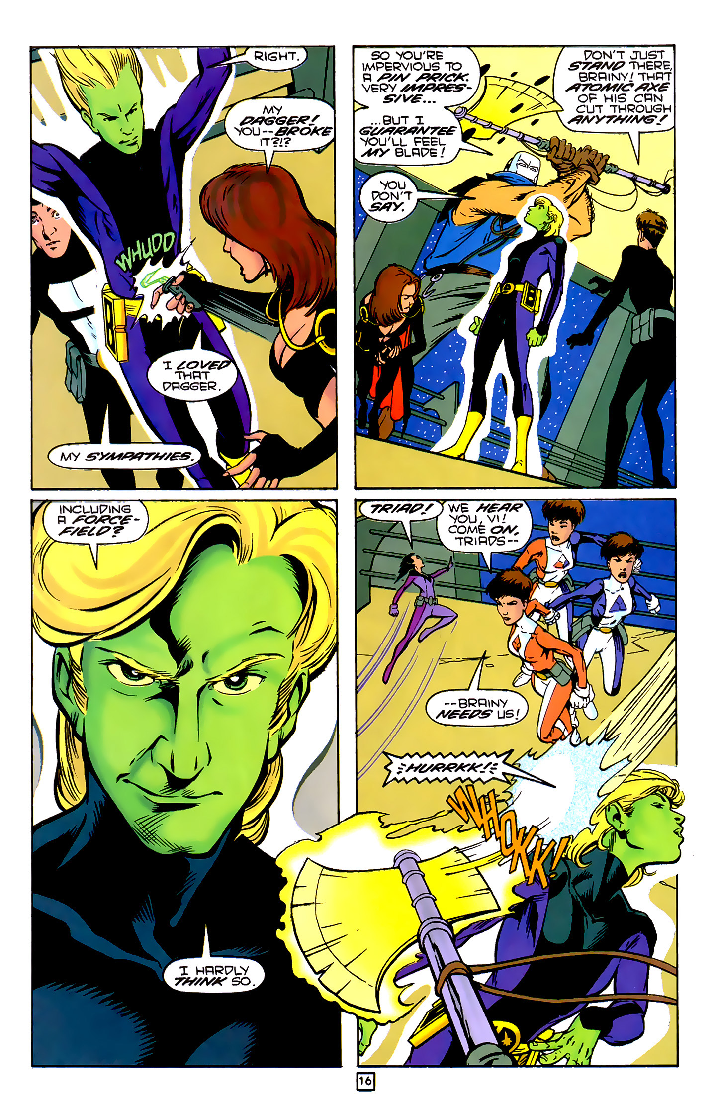 Legion of Super-Heroes (1989) 79 Page 15