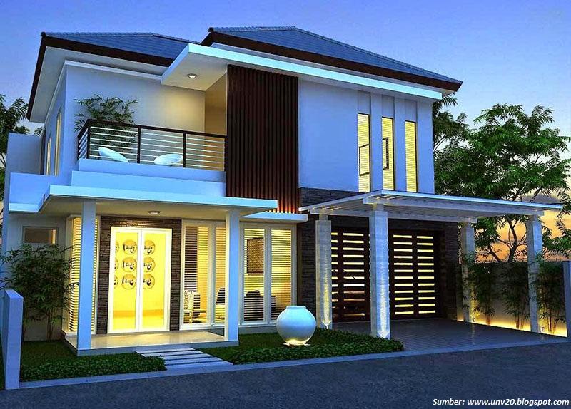 62 Gambar Rumah Minimalis Bertingkat Sederhana HD Terbaik