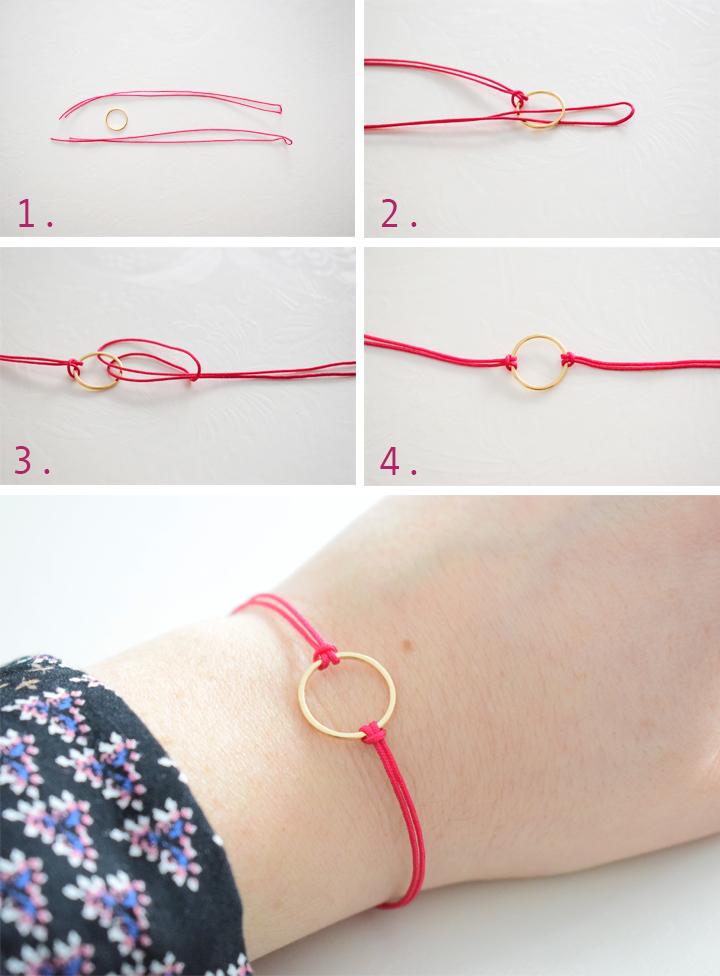 diy facile joli bracelet