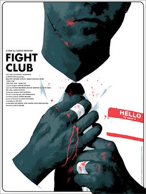 Fight Club Movie Poster Screen Print by Matt Taylor x Mondo