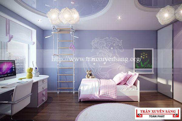Mẫu trần phòng ngủ lãng mạn 3