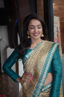 Tejaswi Madivada looks super cute in Saree at V care fund raising event COLORS ~  Exclusive 017.JPG