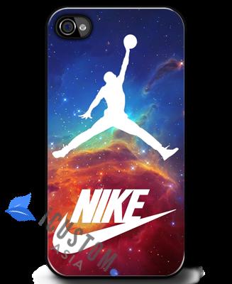 new product b8692 35e54 Nike Air Michael Jordan Galaxy Nebula iPhone 4 4S Cases | Custom ...