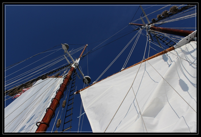 Sailing on the Schooner Thomas E.Lannon