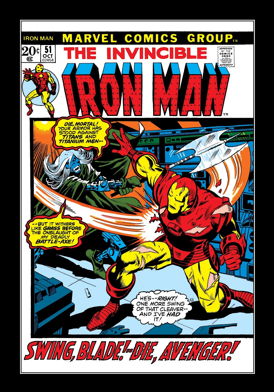 Read online Marvel Masterworks: The Invincible Iron Man comic -  Issue # TPB 8 (Part 3) - 52