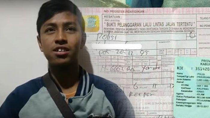 Benar-benar Tak Menyangka, Rumahnya Didatangi Kapolres Pasuruan, Begini Nasib Polisi, Pemuda yang Viral Setelah Kena Tilang