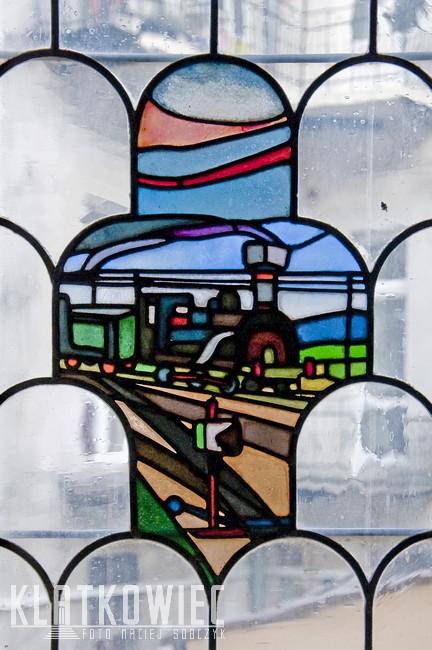 Kraków: pociąg do witraży
