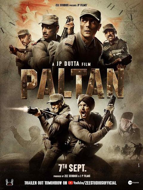 Paltan (2018)  Full Movie Free Downlaod in HD