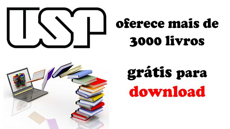 Livros online - USP oferece mais de 3000 livros grátis para download