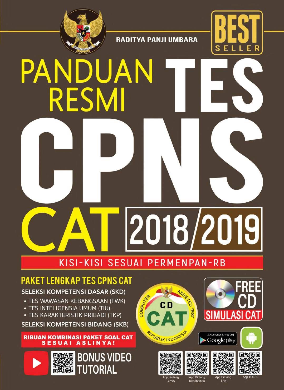 Download Panduan Resmi Tes CPNS CAT 2018-2019