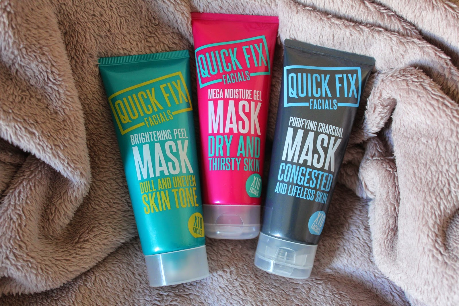 review quick fix facials skincare skin face mask masque