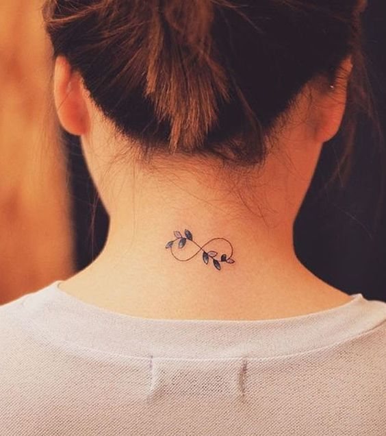 Cool Infinity Tattoo For Girls