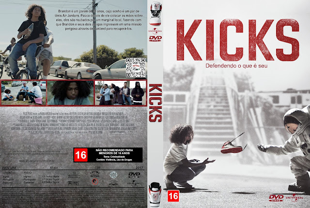 Capa DVD Kicks [Custom]