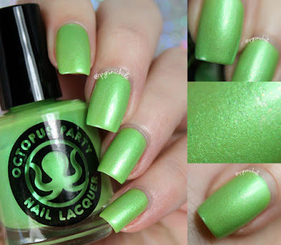 Octopus Party Nail Lacquer Matcha Maker | Sprummer 2016