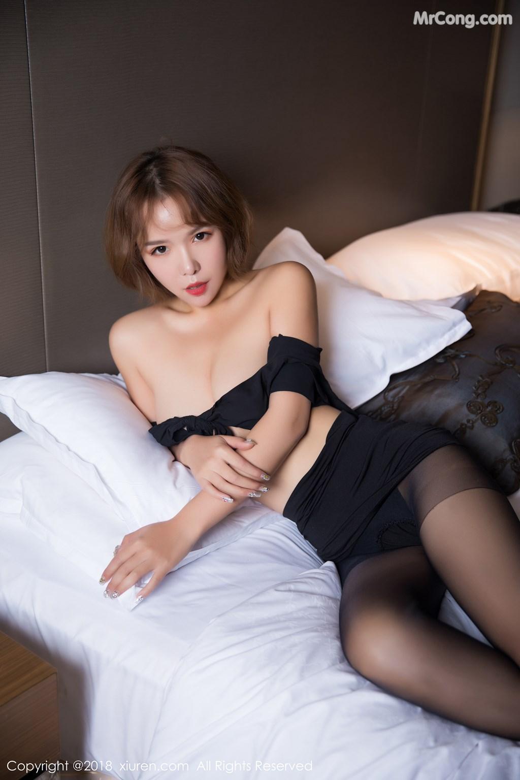 Image XIUREN-No.1264-Ya-Wen-MrCong.com-048 in post XIUREN No.1264: Người mẫu Ya Wen (雅雯) (61 ảnh)