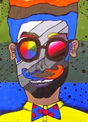 ARTimus Prime 8th Grade Creative Color Wheel