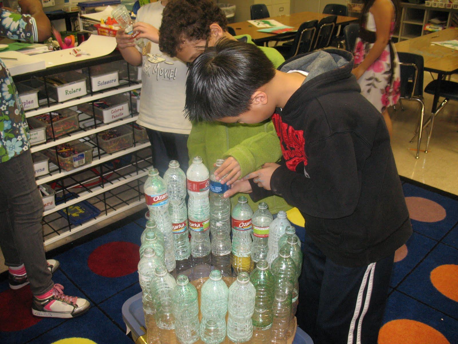 Anderson Art Blog 5th Grade Creates Recycled Art
