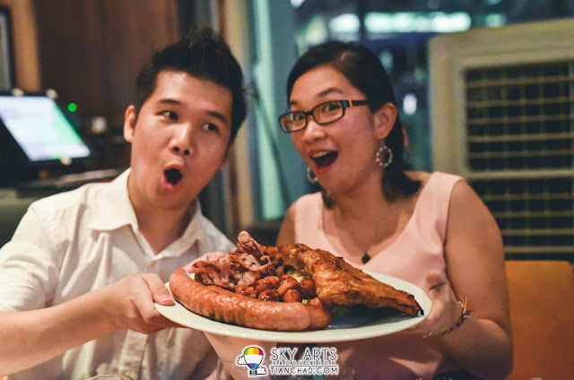 How big is the pork platter? Here's it! |  3 Wise Monkeys Bistro & Bar Setiawalk Puchong