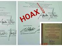 Hoax! Tak Ada Kontrak Politik Anies Dengan Hizbut Tahrir