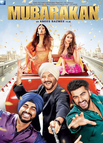 Mubarakan 2017 Hindi 480p WEB HD 450mb
