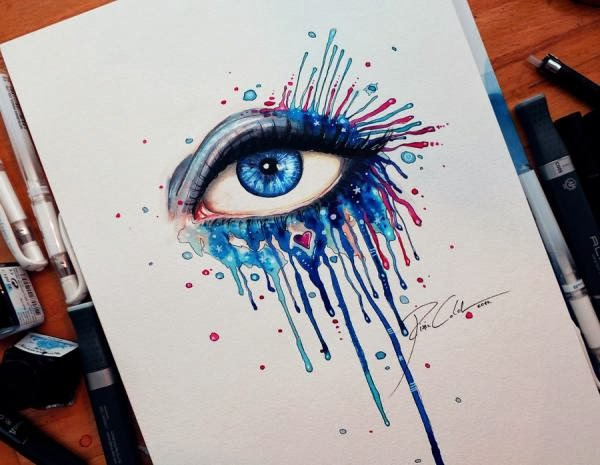 Mind Blowing Eye Paintings by Svenja Jodicke - Fine Art ...  Mind Blowing Ey...